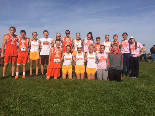 WL-S Tigers Cross Country Regional Racers